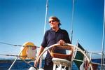 Fabrizio in mare, metà anni 90 :: Archivio Fondazione De Andrè