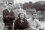Fabrizio con la famiglia, 1955 :: Archivio Fondazione De Andrè