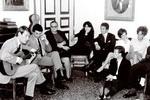 Fabrizio canta con amici,1966 :: Archivio di Lorenza Bozano