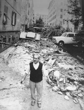 Genova, alluvione 1970