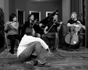 Antonio Lombardi e Gnu Quartet, foto di Daniele Barraco