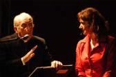 con Carla Peirolero