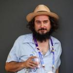 Italian songwriter Vinicio Capossela at Expo 2015, Milan, 30 June 2015.  ANSA/ MOURAD BALTI TOUATI